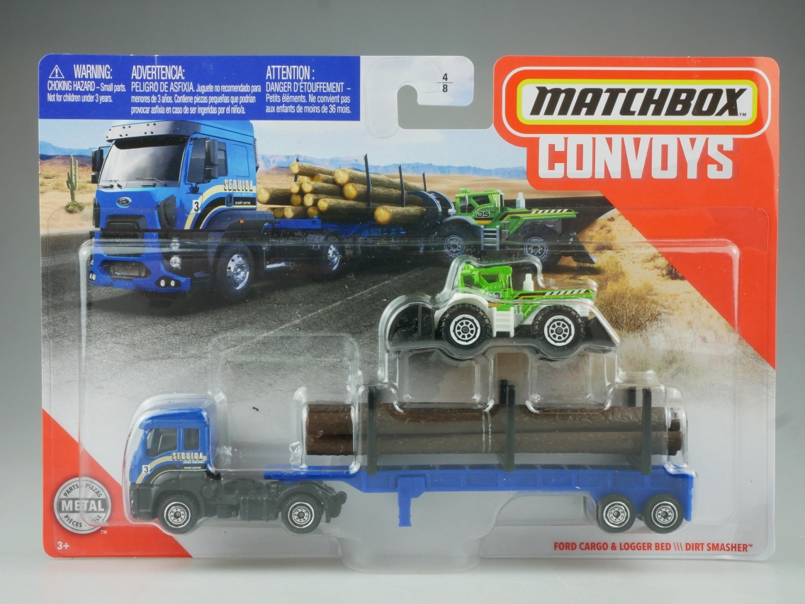 Ford Cargo & Logger Bed \\\ Dirt Smasher Convoys - 27404