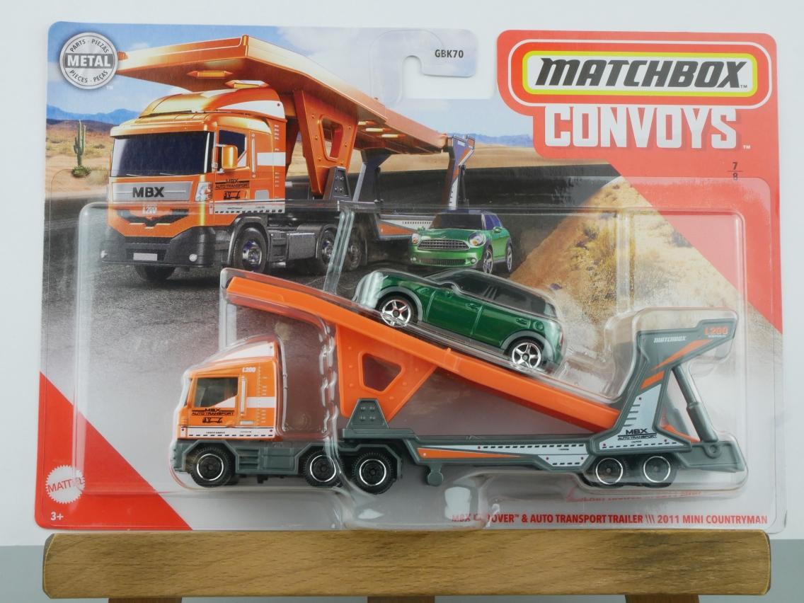 MBX Cabover & Auto Transport Trailer \\\ 2011 Mini Countryman - 27472