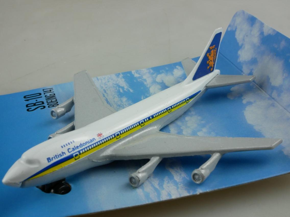 SB-10 Boeing 747 'Jumbo' British Caledonian - 28512