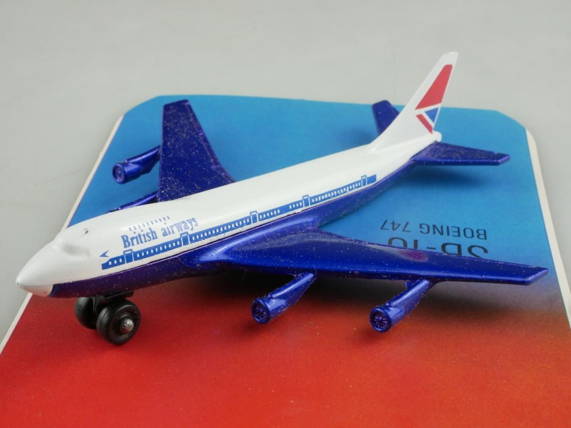 SB-10 Boeing 747 'Jumbo' British Airways - 28514