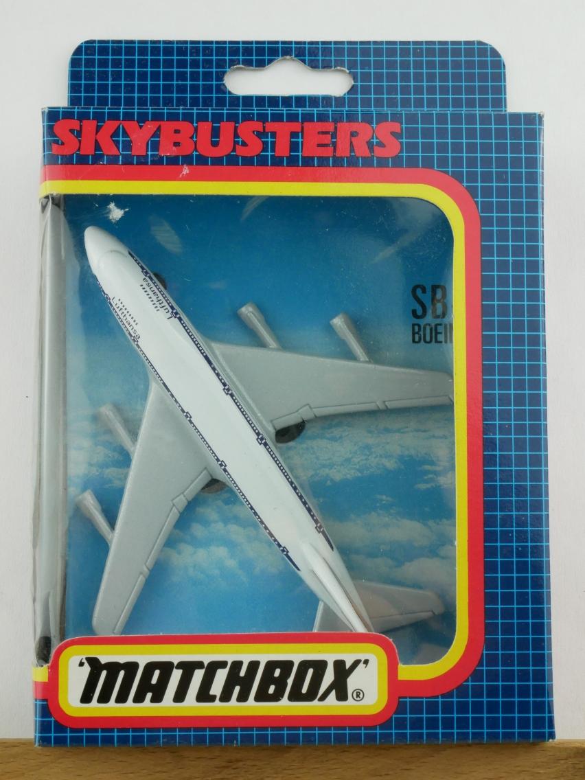 SB-10 Boeing 747 'Jumbo' Lufthansa - 28575