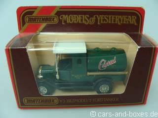 Y-03-4 1912 Ford T Tanker Castrol - 41927