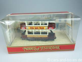 Y-15-3 1920 Preston Tram ZEBRA GRATE POLISH - 42100