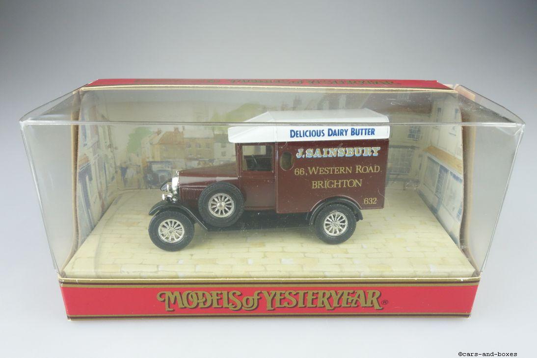Y-19-3 1929 Morris Van SAINSBURY - 43265