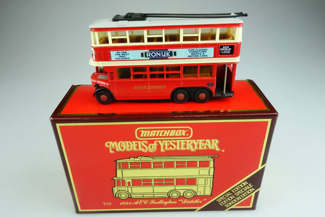 Y-10-5 1931 Diddler Trolley Bus  Sonderedition - 43620