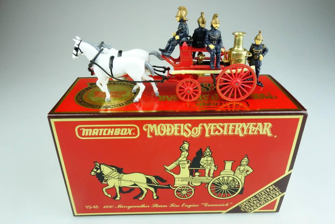 Y-46-1 1880 Merryweather Fire Engine - 43623