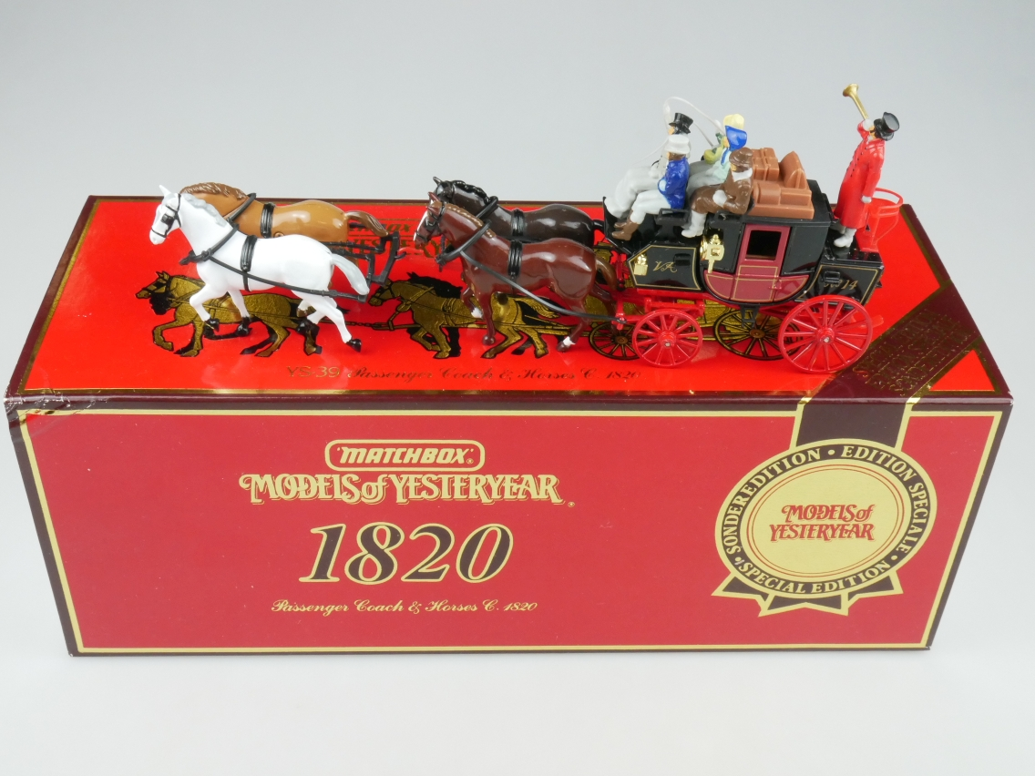 Y-39-1 Passenger Coach & Horses Sonderedition - 44219