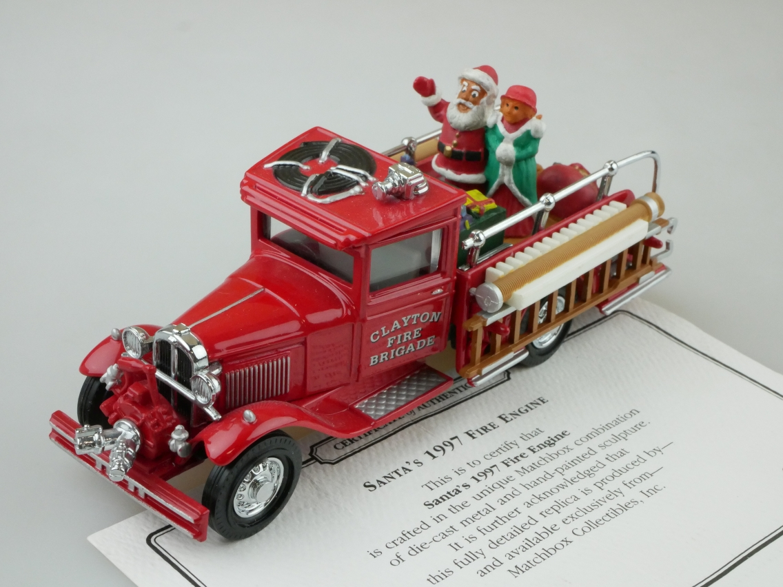 YSC04 1932 Ford AA Pick Up Feuerwehr - 47083