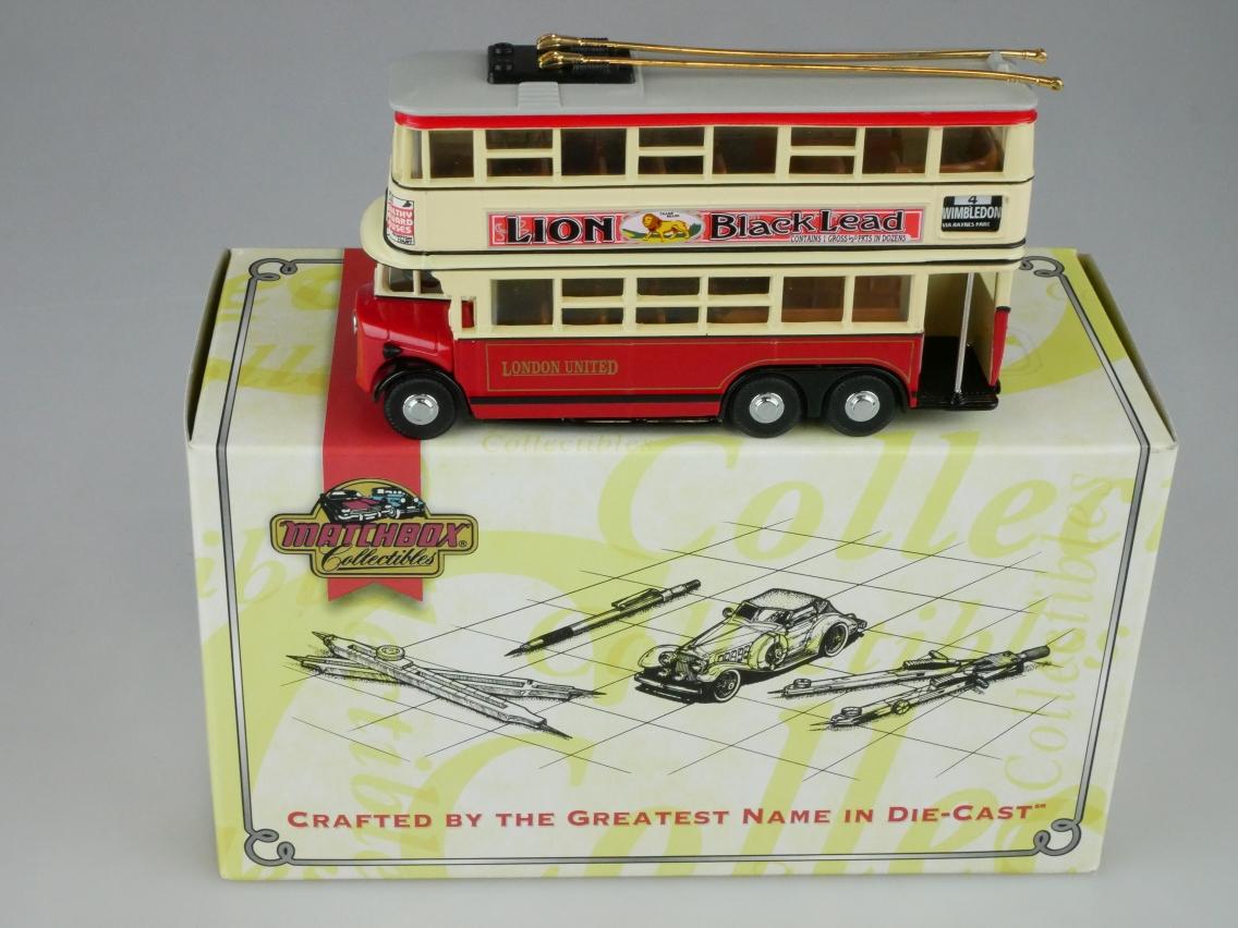 YET03 1931 Diddler Trolley Bus London - 47180