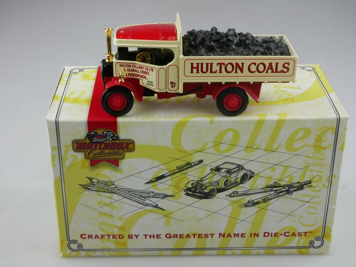 YAS02 1929 Foden Dampf Lkw mit Kohleladung - 47203