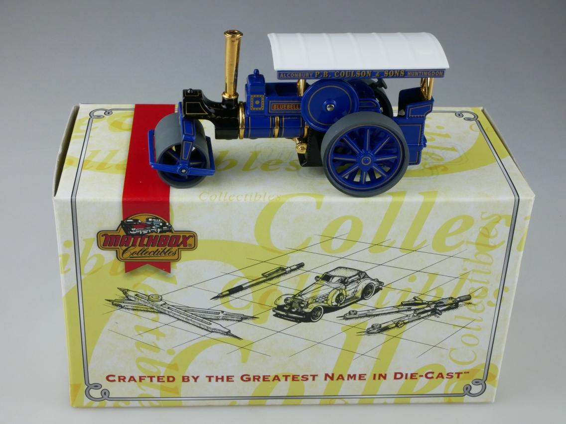 YAS03 1894 Aveling & Porter Dampfwalze blau - 47204