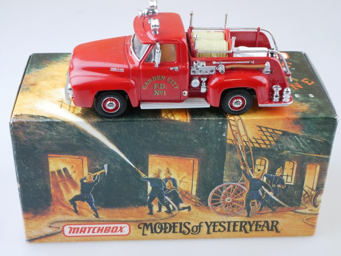 YFE14 1953 Ford F100 Pick Up Feuerwehr - 47265