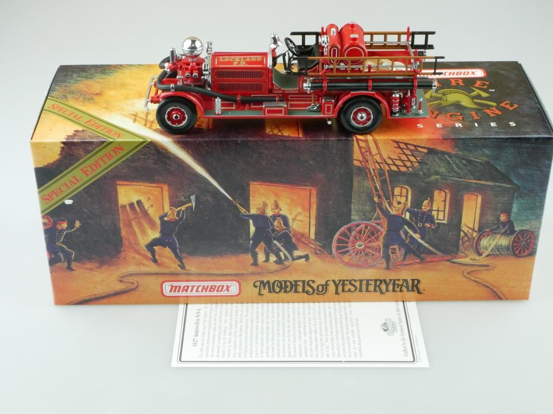 YSFE04 1927 Ahrens Fox N-S-4 Feuerwehr - 47290