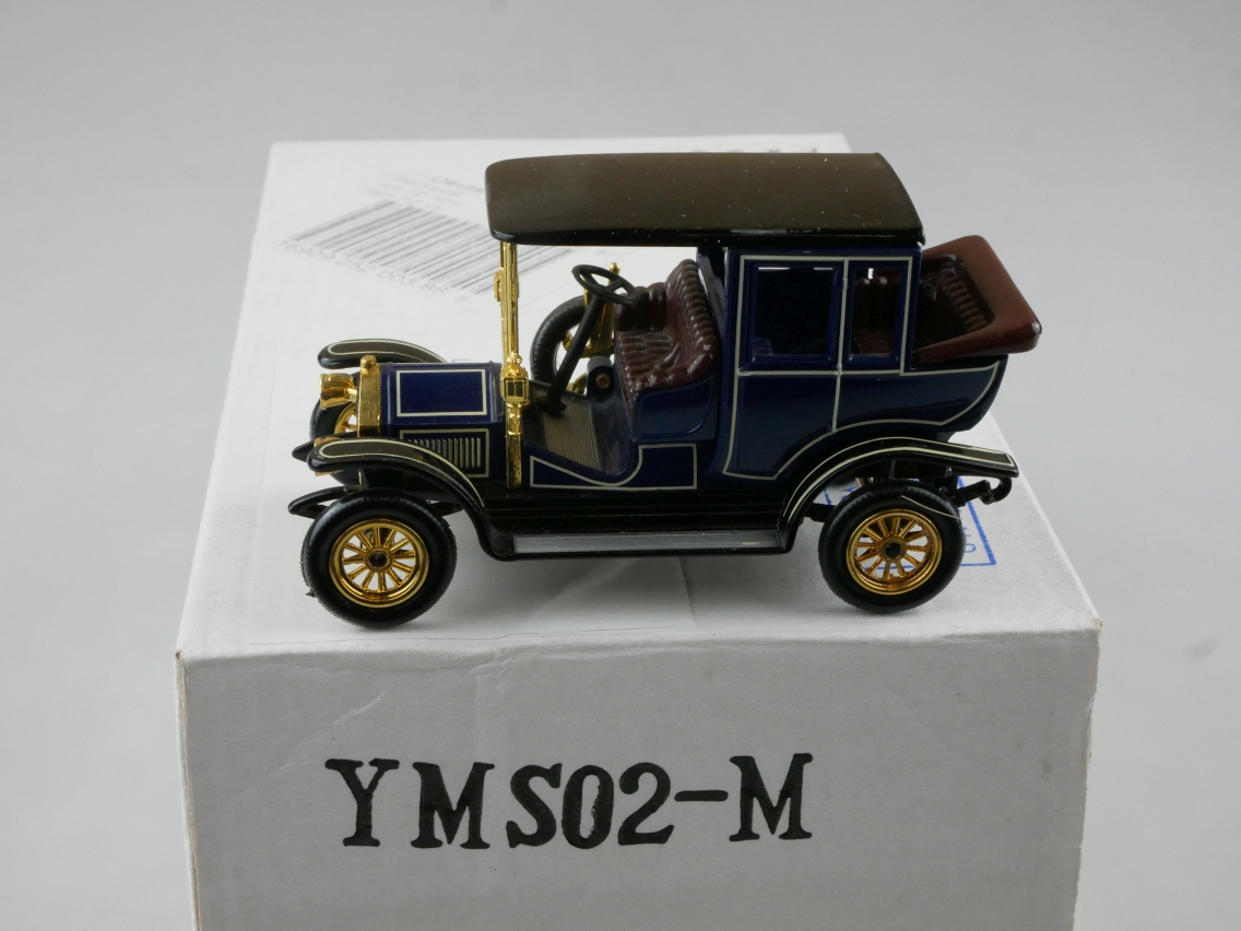 YMS02 1910 Benz dunkelblau - 47296