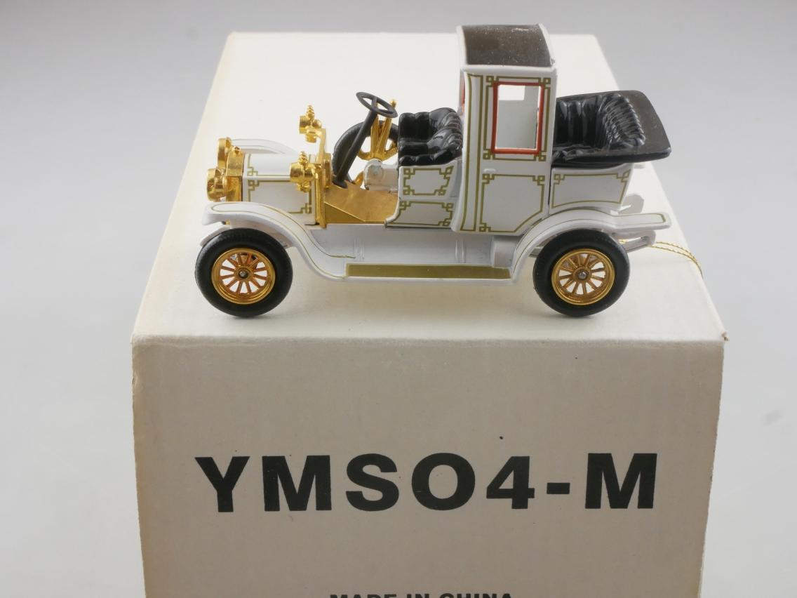 YMS04 1912 Packard Landaulet weiß - 47298