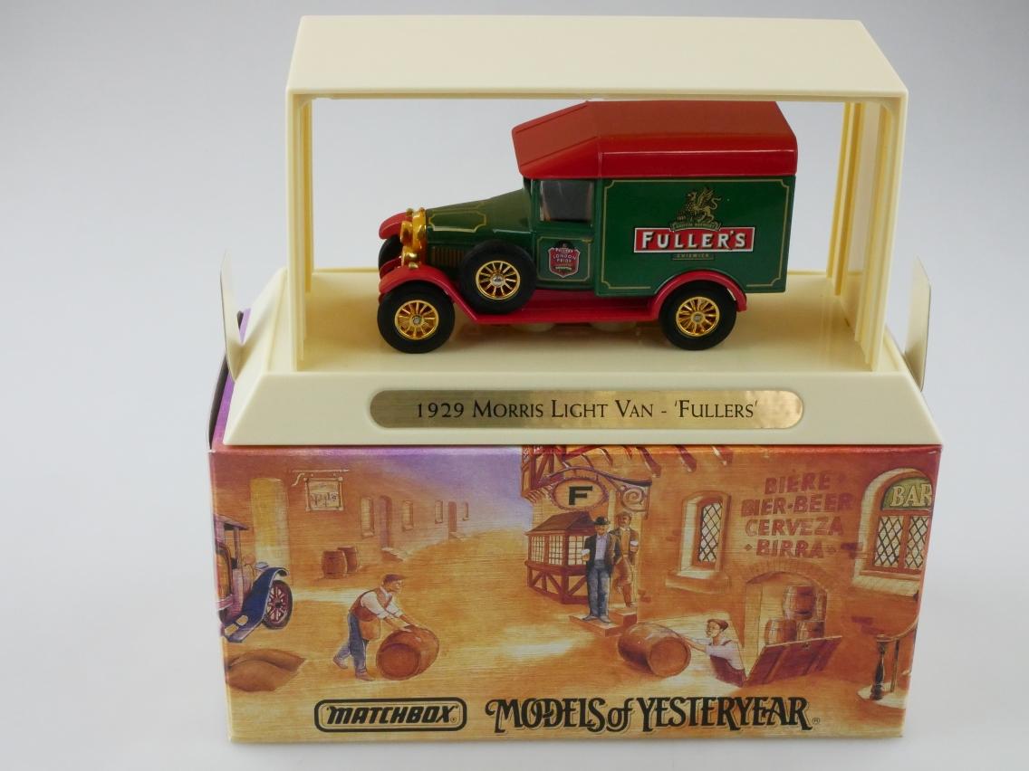 YGB04 1929 Morris Van FULLERS - 47313