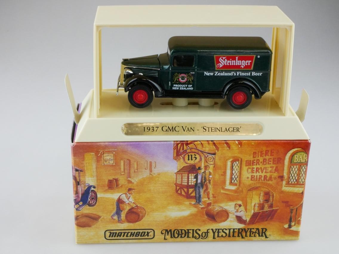 YGB08 1937 GMC Van STEINLAGER - 47317