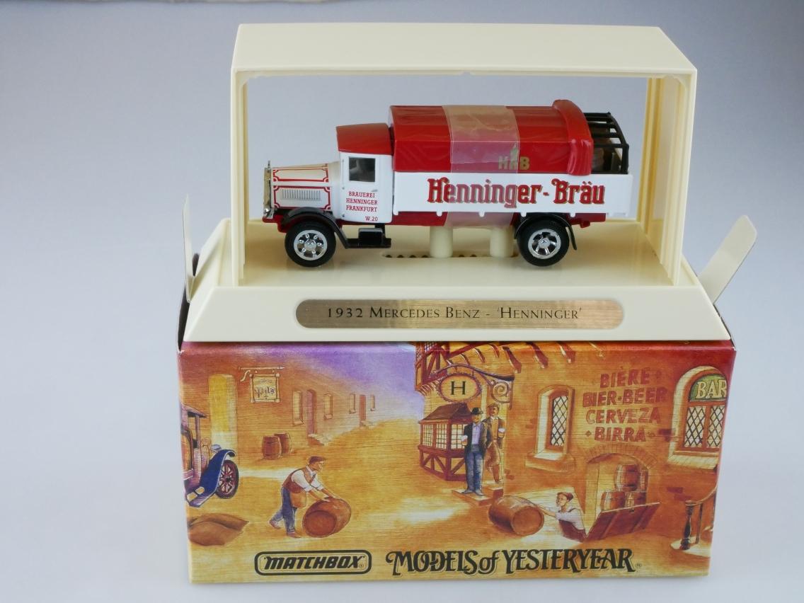 YGB17 Mercedes Benz HENNINGER - 47326