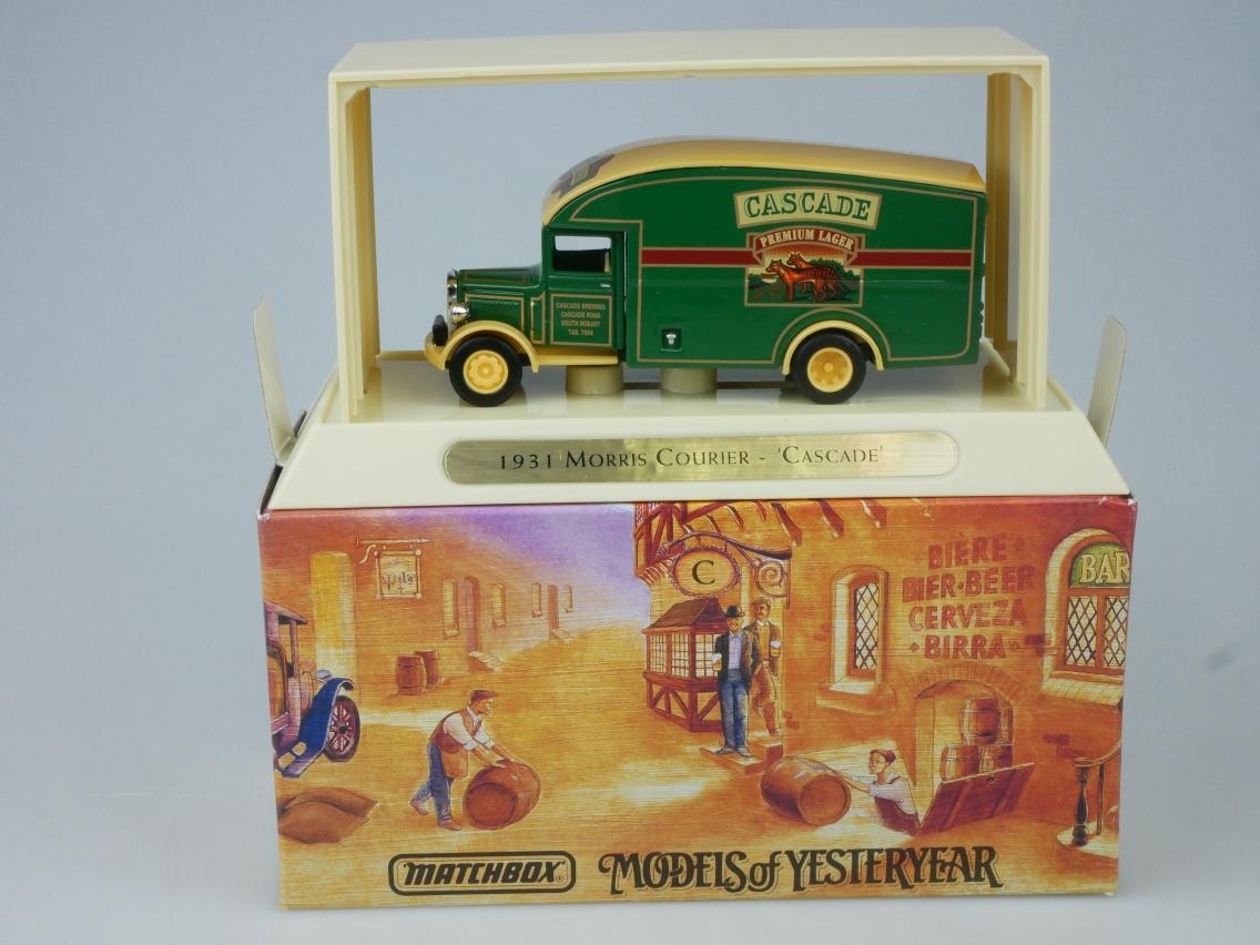 YGB18 1931 Morris Courier Van CASCADE - 47327