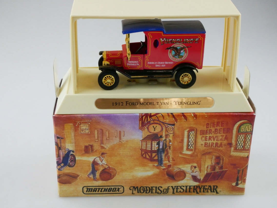 YGB19 1912 Ford T Lkw YUENGLING BEER - 47328