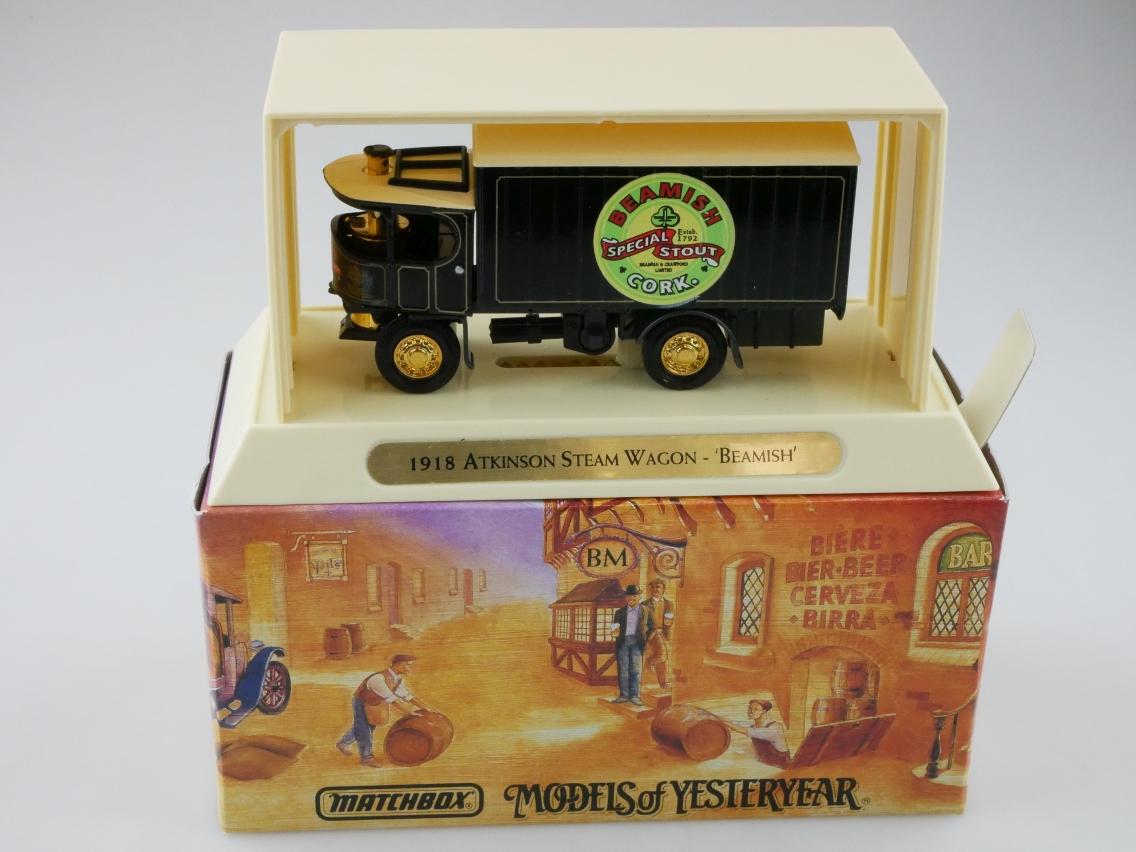 YGB22 1918 Atkinson Steam Wagon BEAMISH - 47331