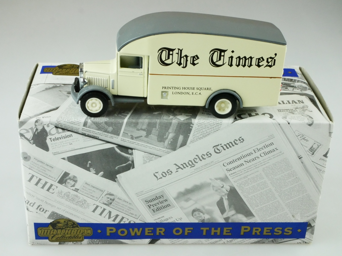 YPP02 1931 Morris Courier Van THE TIMES - 47350