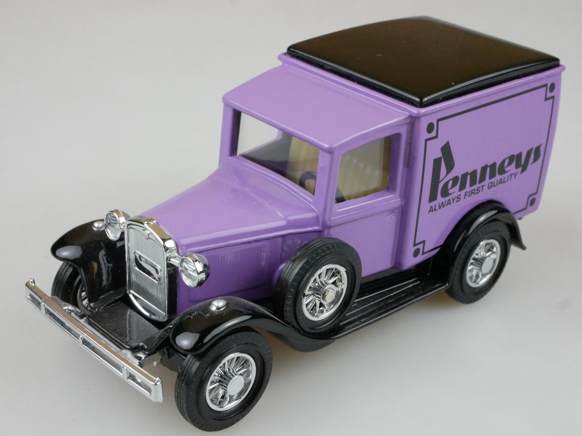 YJC01 1930 Ford A Lkw J.C. Penney lila - 47406