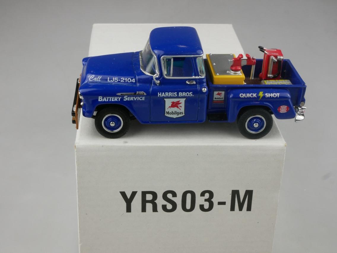 YRS03 1956 Chevrolet 3100 Battery Service - 47469