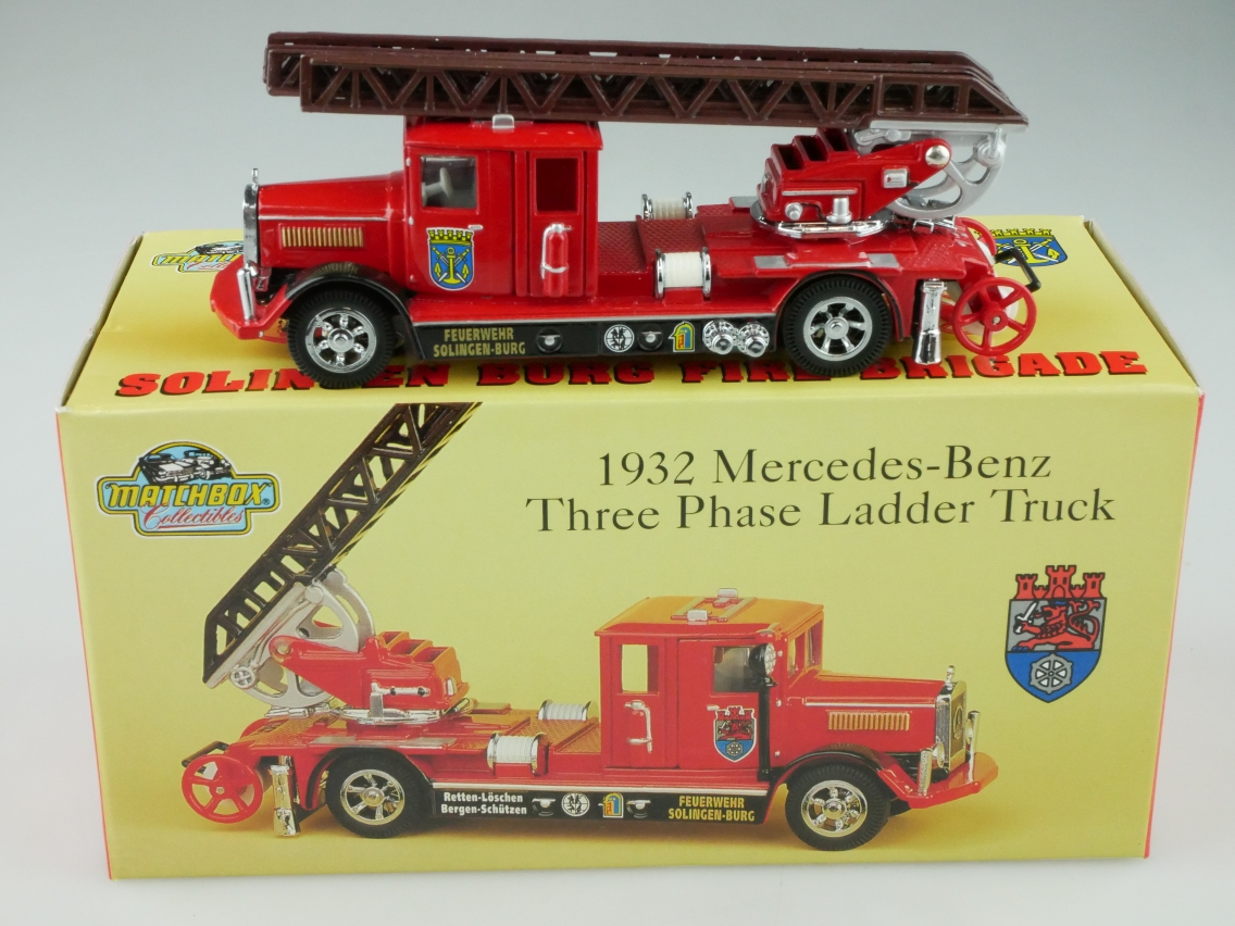 YFE05/SA 1932 Mercedes Feuerwehr Solingen - 47526