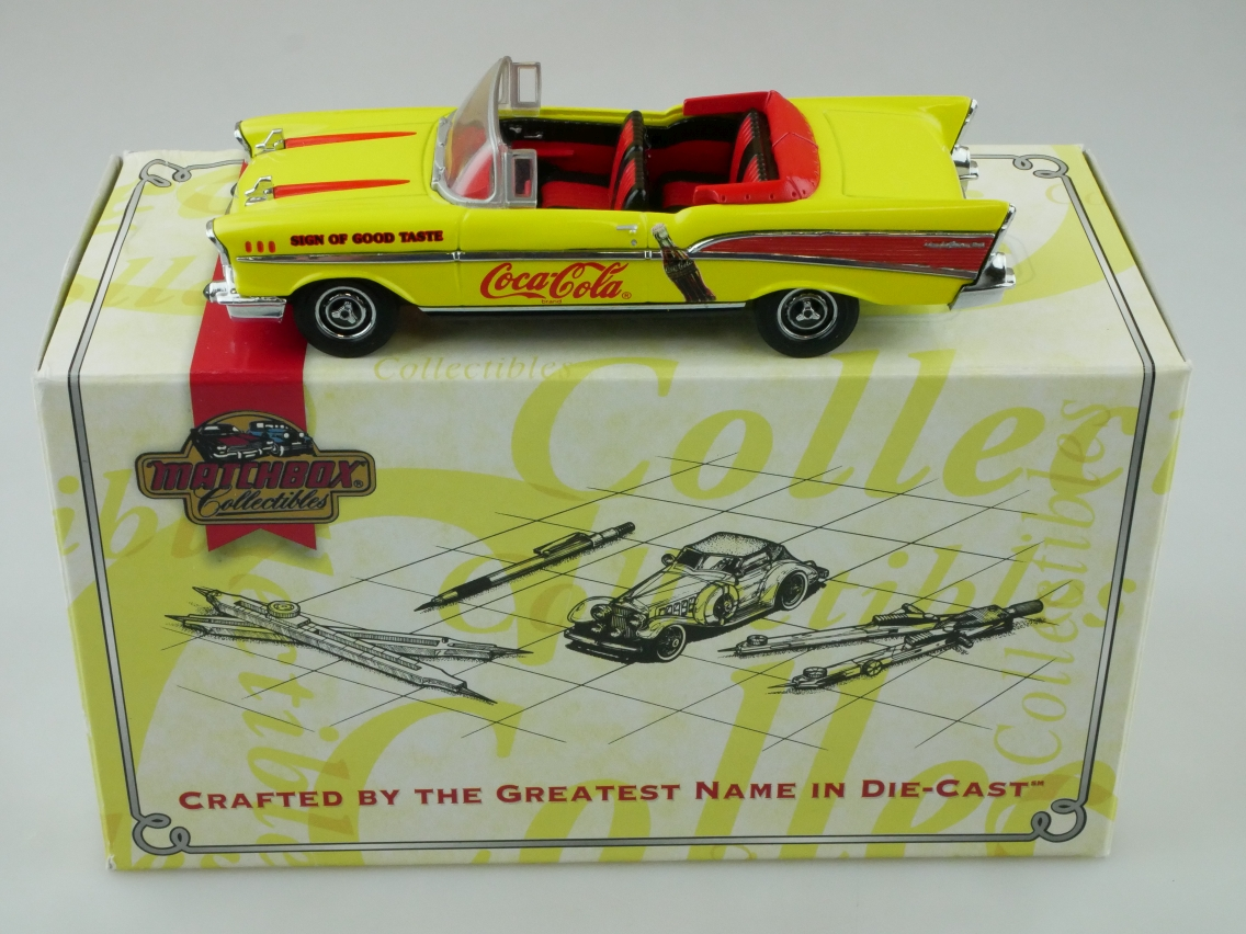 DYG02/B 1957 Chevy Bel Air Coca Cola - 47569