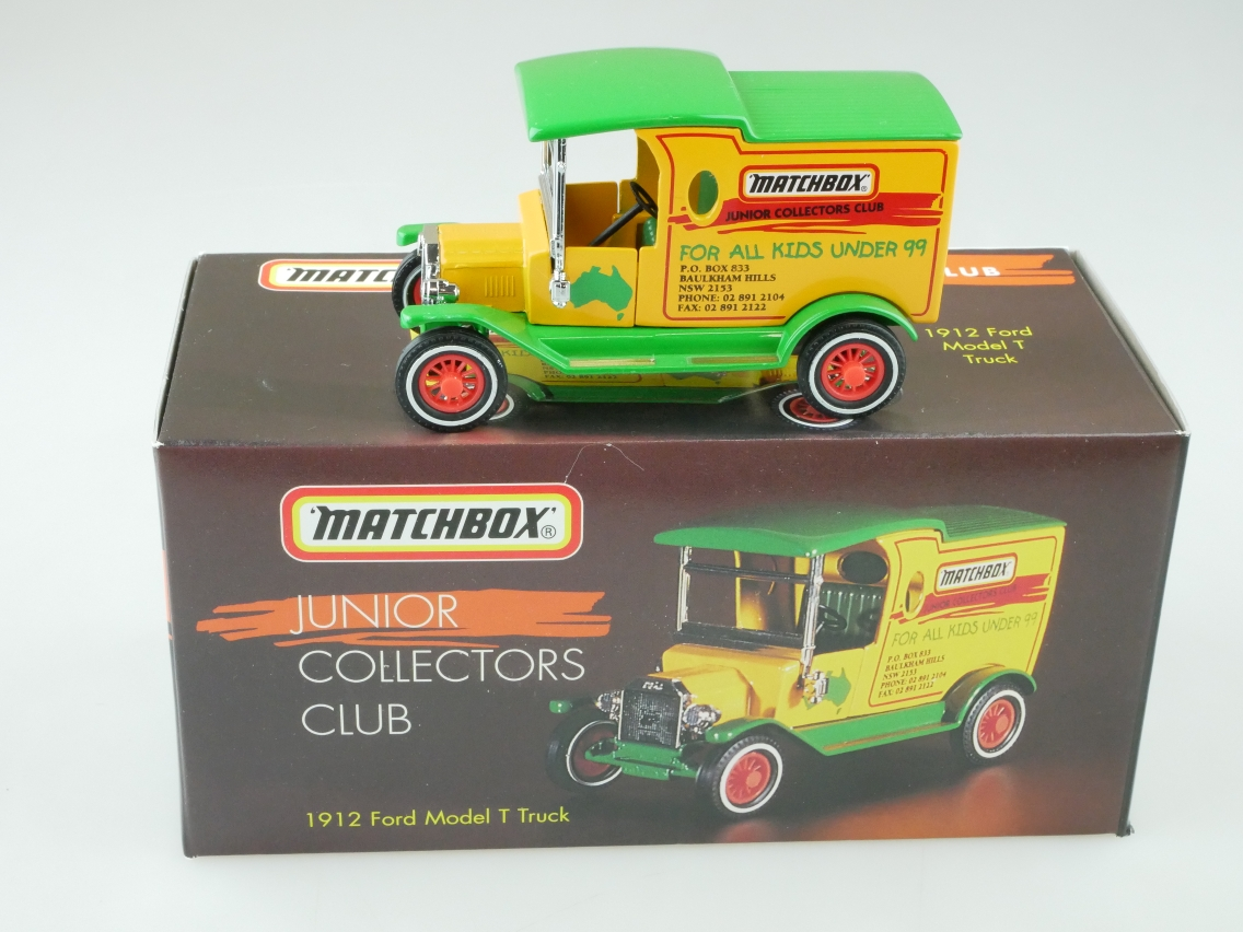YY012/SA 1912 Ford T Lkw Junior Matchbox Club - 47587