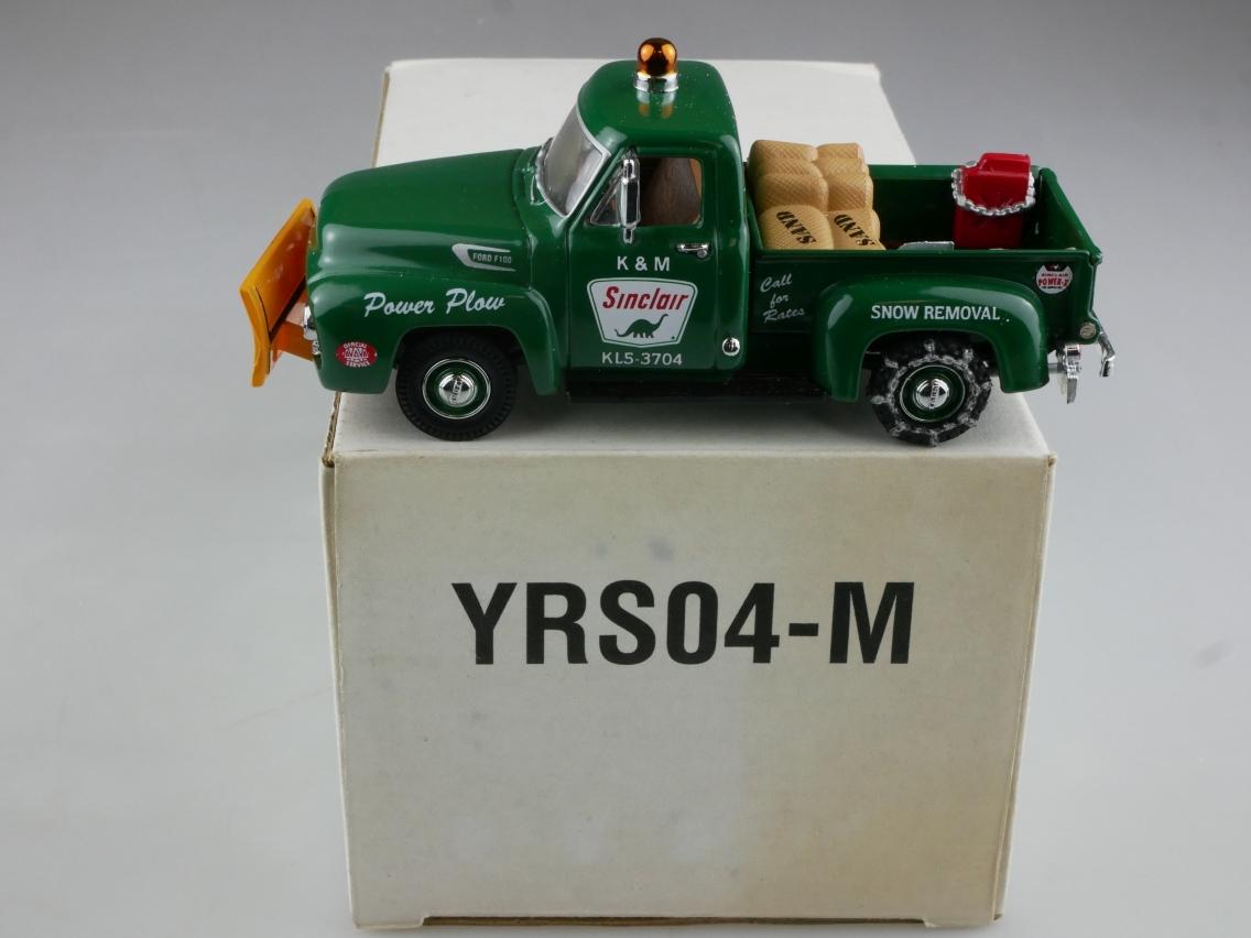 YRS04 1954 Ford F100 Snow Plough - 47615