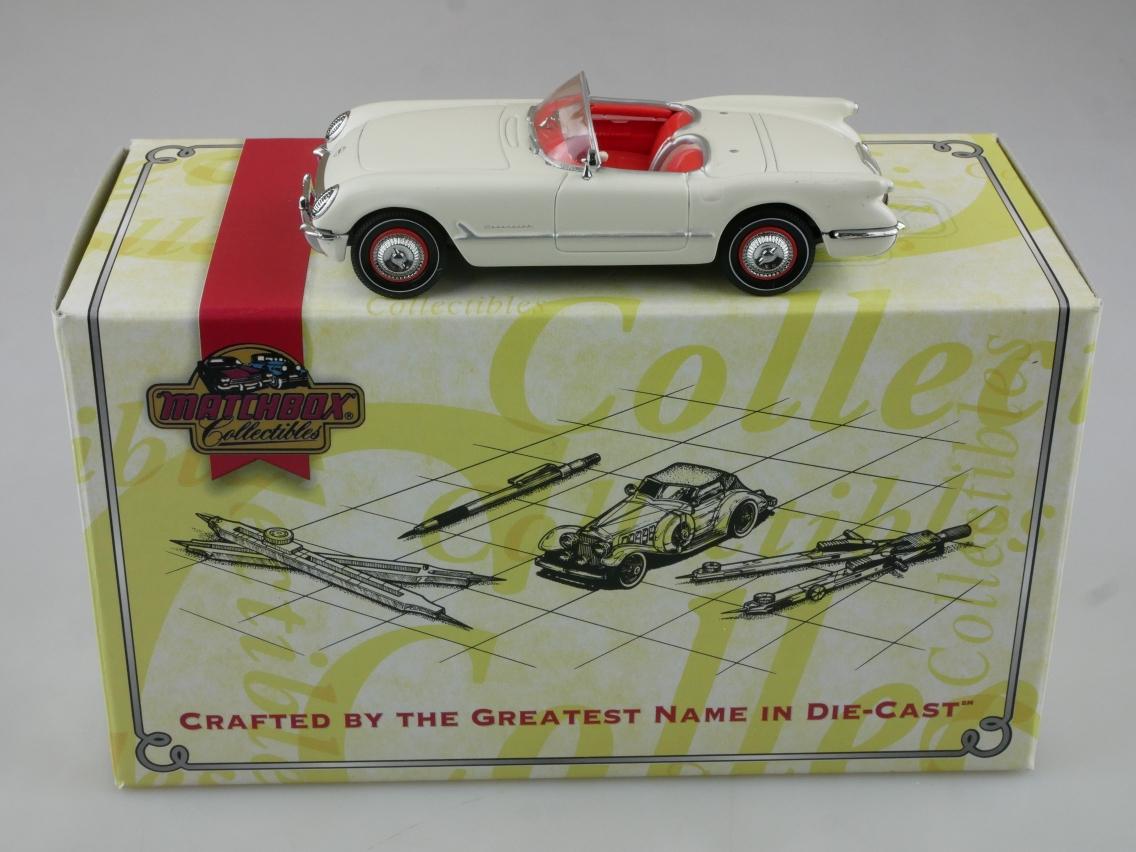 CCV06 1953 Chevy Corvette Convertible weiß - 47624