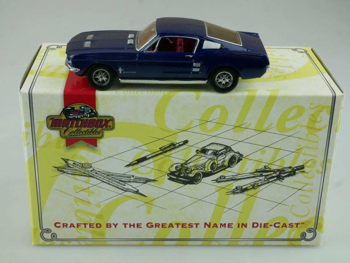 DYG01 1957 Mustang mittelblau - 47629