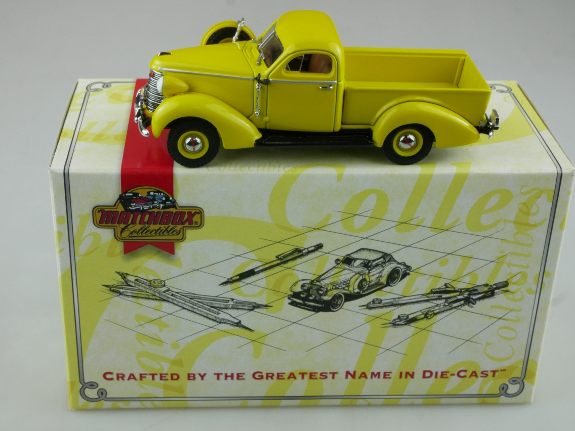 YTC05 1938 Studebaker gelb - 47647