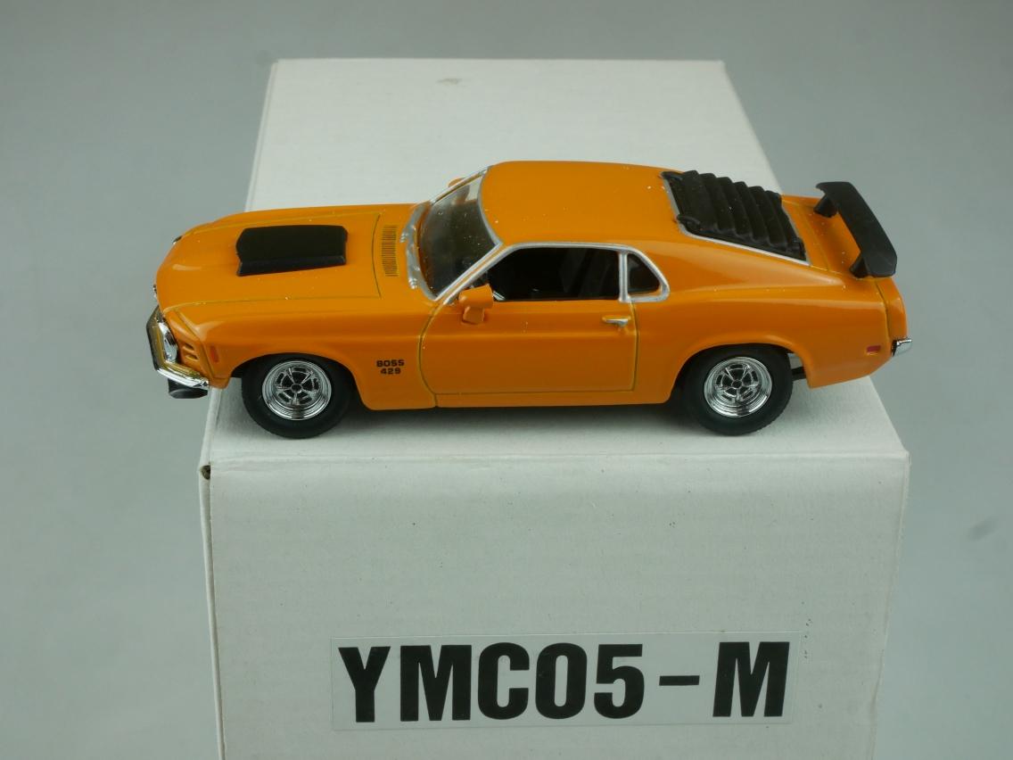 YMC05 1970 Boss 429 Mustang - 47661