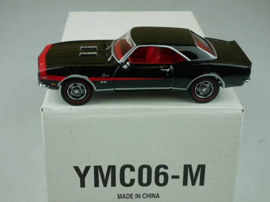 YMC06 1968 Chevrolet Camaro SS 396 schwarz - 47662