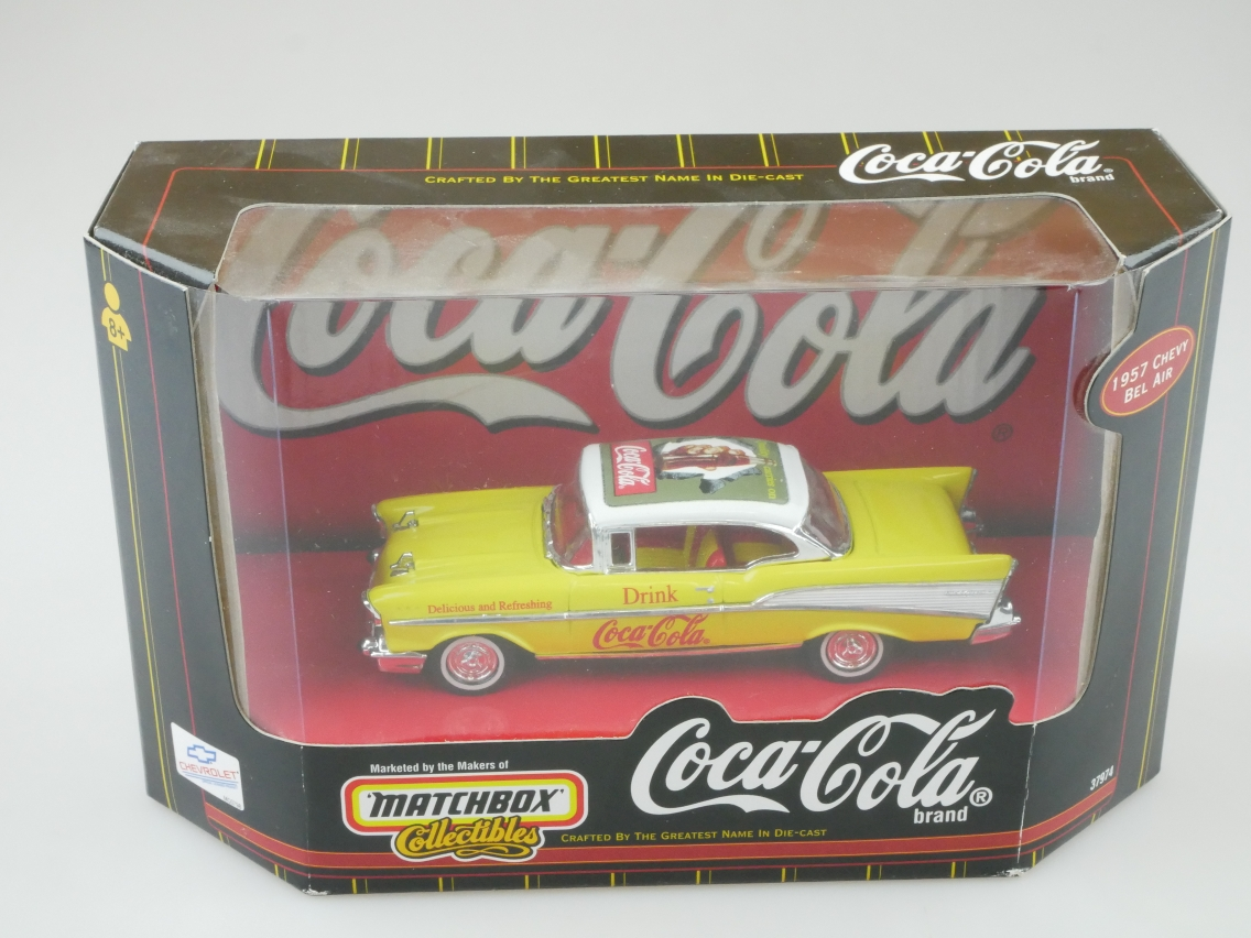 37974 1957 Chevy Bel Air Coca Cola