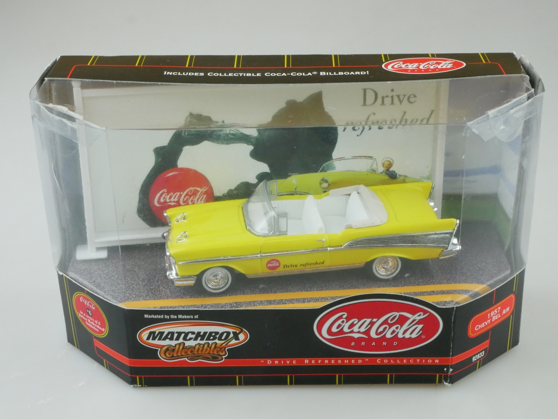 92833 1957 Chevy Bel Air Coca Cola