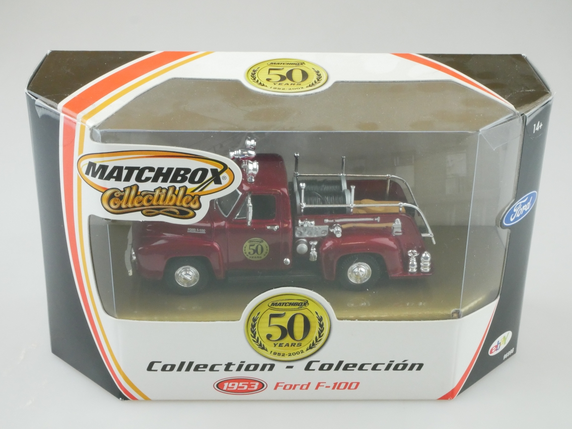 96998 1953 Ford F100 Pick Up Feuerwehr
