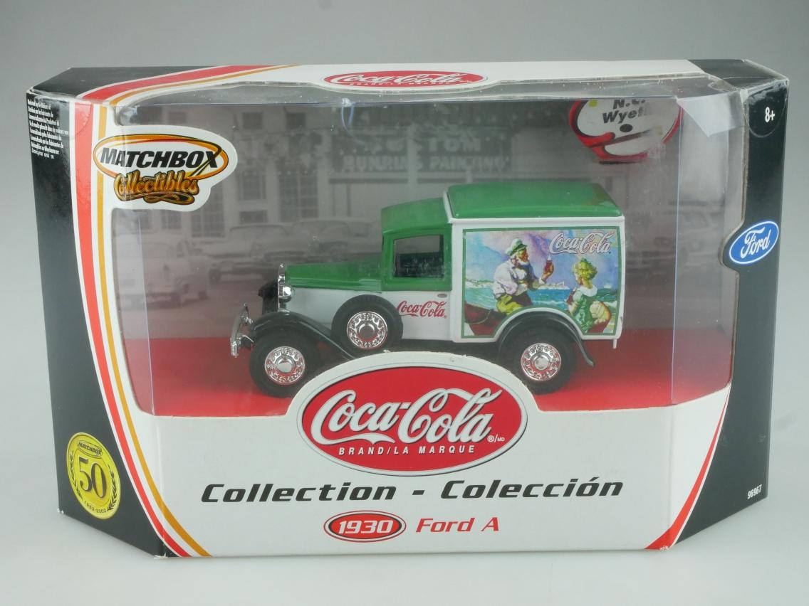 96967 1930 Ford A Lkw Coca-Cola (Y-22-1) - 49527