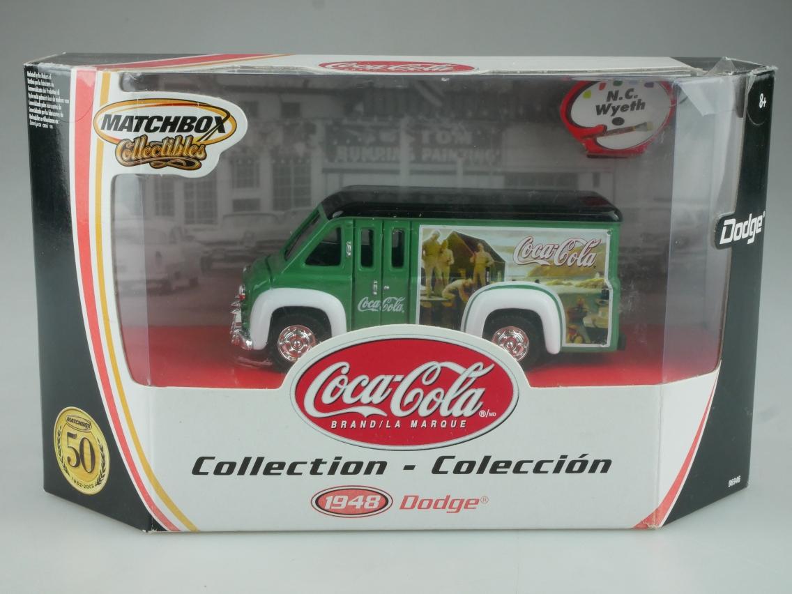 96946 1948 Dodge Route Van Coca-Cola - 49530