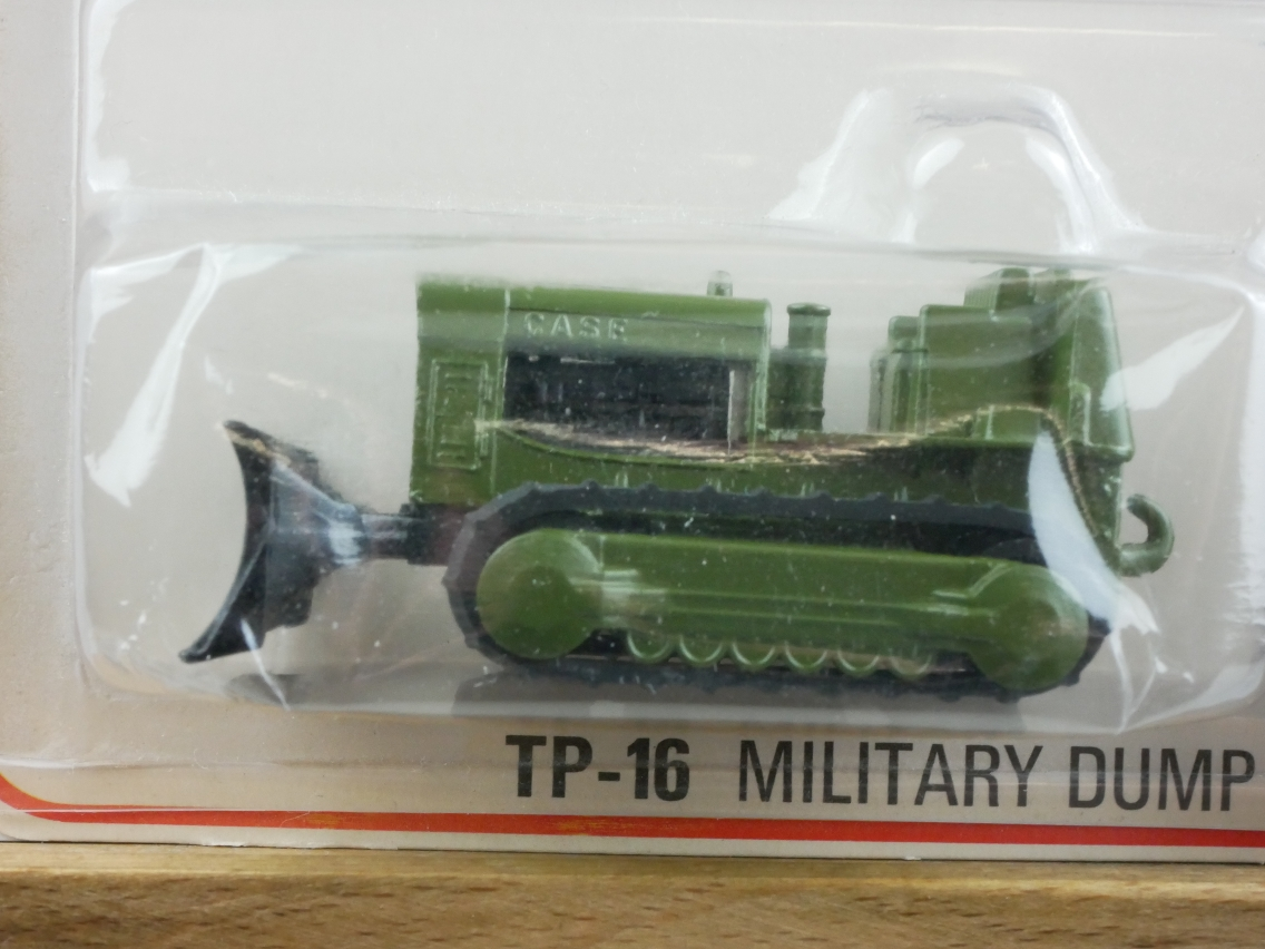 TP-016A Military Dump Truck & Bulldozer - 59006