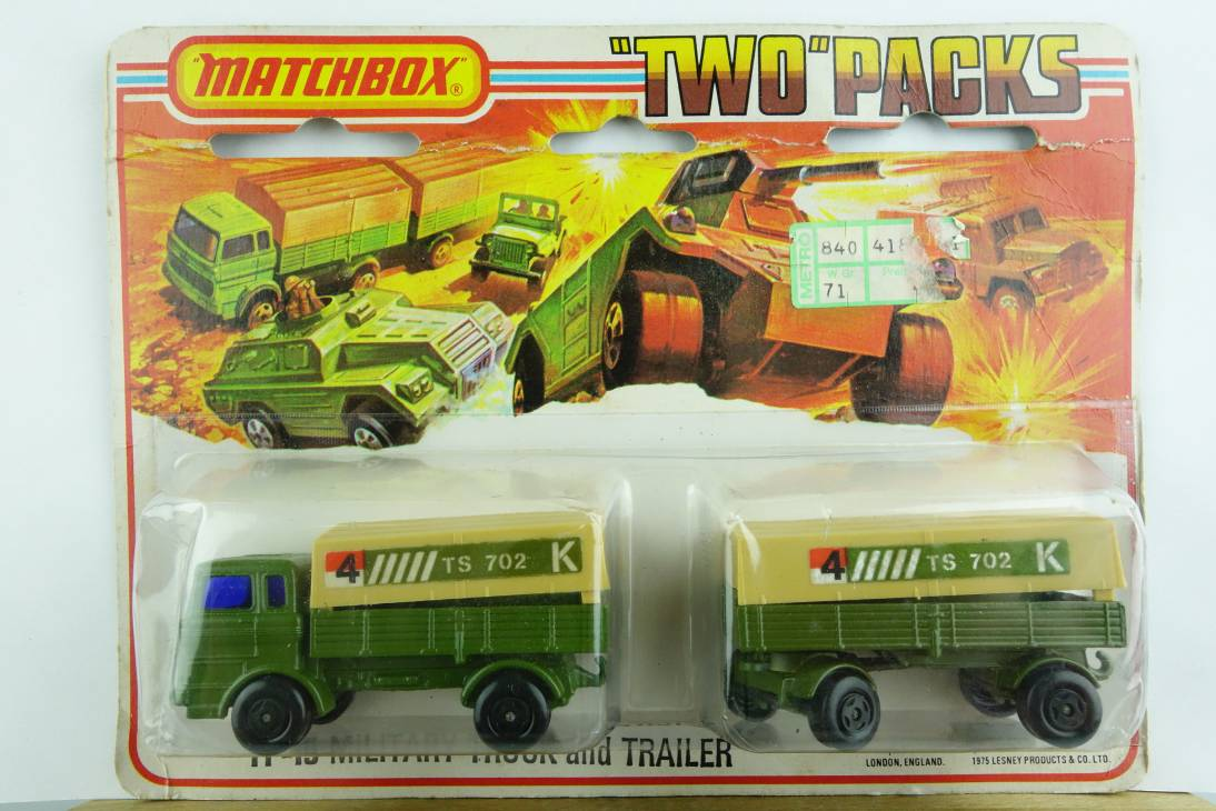 TP-015A Military Truck & Trailer  - 59978