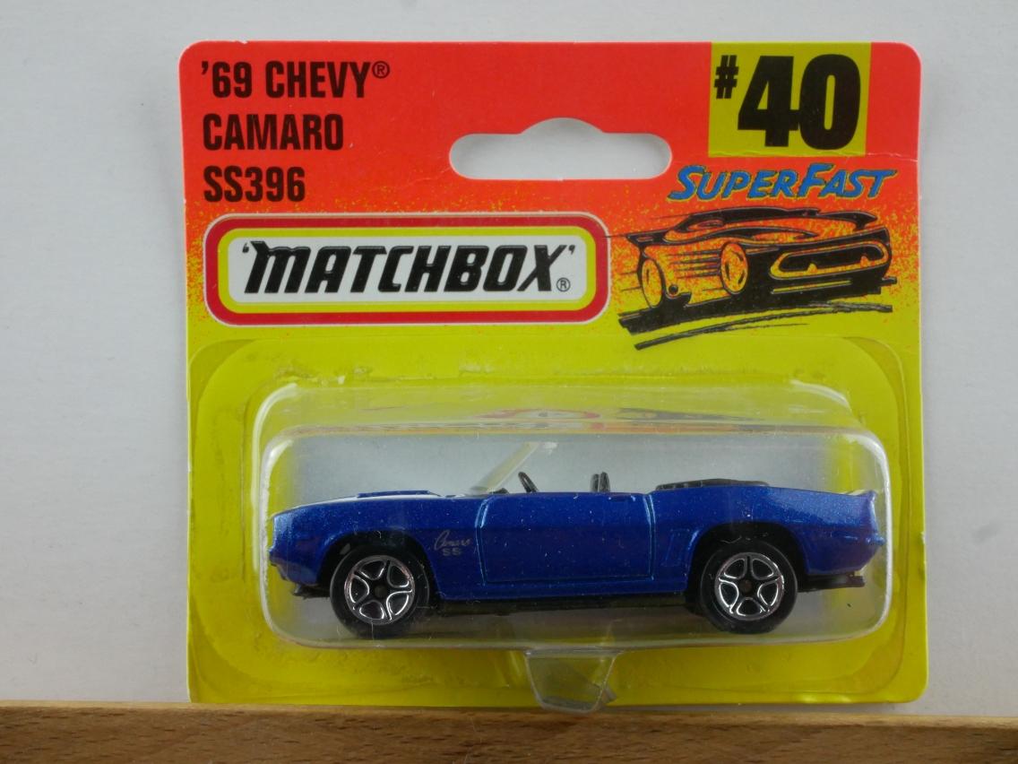 1969 Chevy Camaro SS 396 (40-H) - 60434