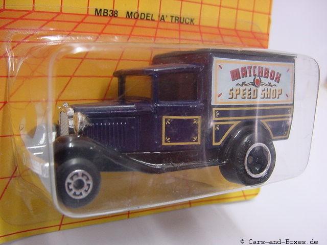 """Ford Model 'A' Van """"SPEED SHOP"""" (38-E/76-C) - 60495"""
