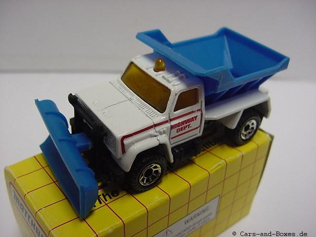Highway Maintenance Truck Snow Plow (45-E/69-G) - 60591