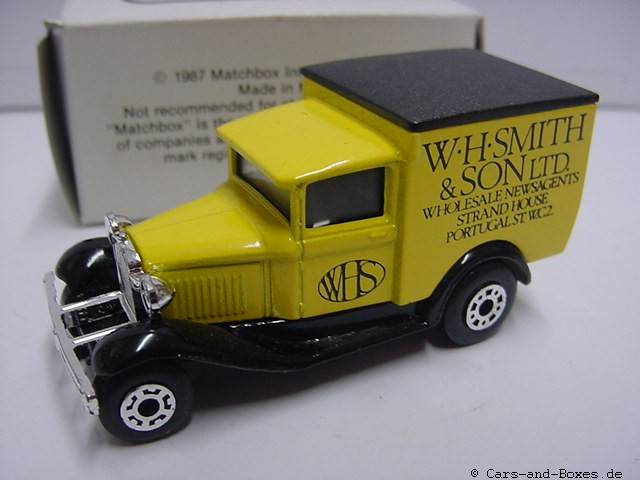 "Ford Model 'A' Van ""W.H.Smith&Son LTD."" (38-E/76-C) - 60691"