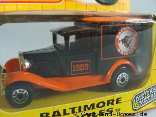 "Ford Model 'A' Van ""Baltimore Orioles""(38-E/76-C) - 61040"