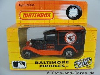 "Ford Model 'A' Van ""Baltimore Orioles""(38-E/76-C) - 61040"